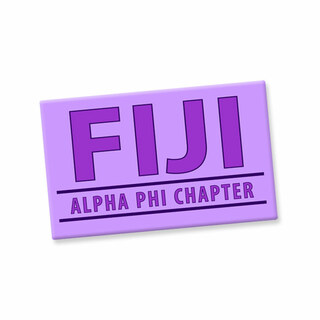 FIJI Fraternity Custom Ceramic Magnet