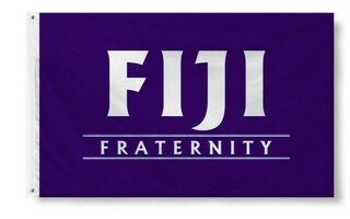 FIJI Fraternity Custom Line Flag