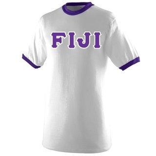 FIJI Fraternity Custom Twill Vintage Ringer