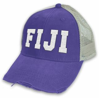 FIJI Distressed Trucker Hat