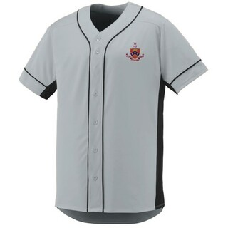 DISCOUNT-FIJI Fraternity Crest - Shield Slugger Baseball Jersey