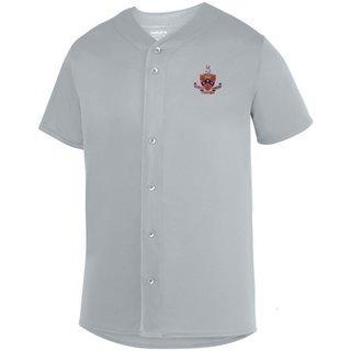 DISCOUNT-FIJI Fraternity Crest - Shield Sultan Baseball Jersey