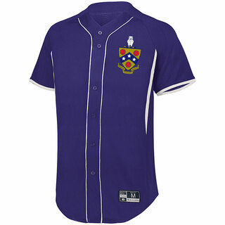 FIJI Game 7 Full-Button Baseball Jersey