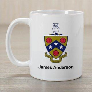 FIJI Greek Crest Coffee Mug - Personalized!