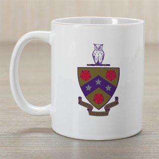 FIJI Greek Crest Coffee Mug