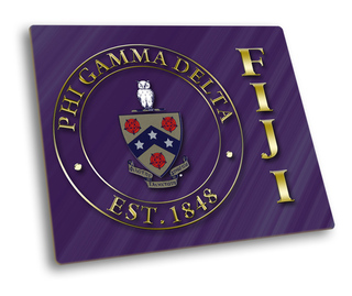 FIJI Fraternity Hard Mousepads