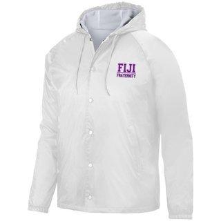 FIJI Fraternity Hooded Coach's Jacket