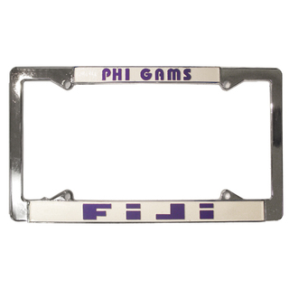FIJI Fraternity License Plate Frame