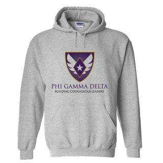 FIJI Fraternity Logo Hooded Sweatshirt