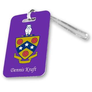 FIJI Fraternity Luggage Tag