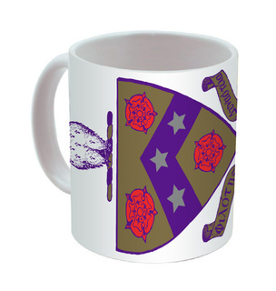 FIJI Fraternity Mega Crest - Shield Coffee Mug