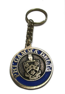 FIJI Metal Fraternity Key Chain