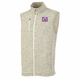 FIJI Fraternity Pacific Heathered Vest
