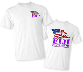 FIJI Fraternity Patriot Limited Edition Tee- $15!