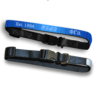 FIJI Fraternity Pet Collar