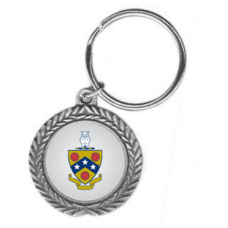 FIJI Fraternity Pewter Key Ring