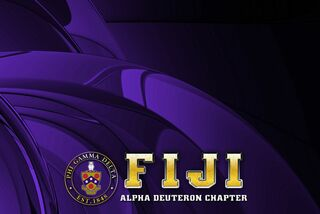 FIJI Fraternity - Phi Gamma Delta Tablecloth