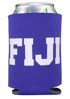 FIJI Fraternity Pocket Can Cooler