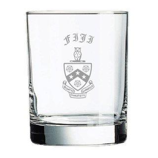FIJI Fraternity Old Style Glass