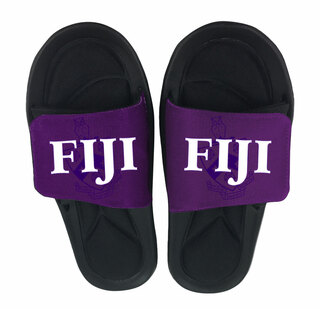 FIJI Fraternity Slide On Sandals
