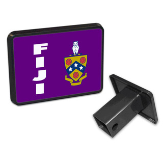 FIJI Fraternity Trailer Hitch Covers