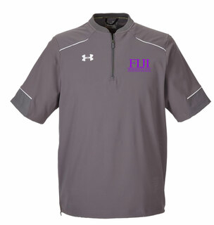 FIJI Under Armour�  Men's Ultimate Short Sleeve Fraternity Windshirt
