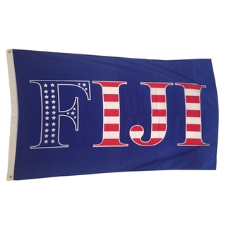 FIJI Fraternity USA Greek Letter Flag