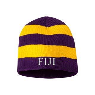 FIJI Fraternity Winter Beanie Ski Cap