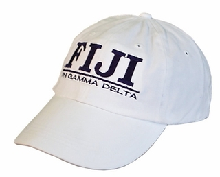 FIJI Fraternity World Famous Line Hat - MADE FAST!