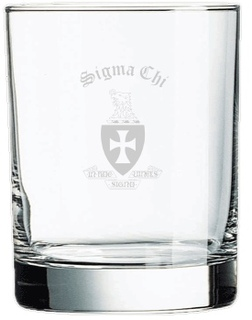 Fraternity Beverage Glass