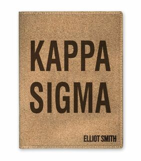 Fraternity & Sorority Cork Portfolio with Notepad