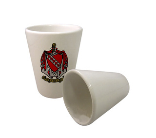 Fraternity Crest Ceramic Collectors Glass