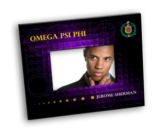 Fraternity Crest - Shield Picture Frame