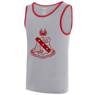 Fraternity Crest Ringer Tank