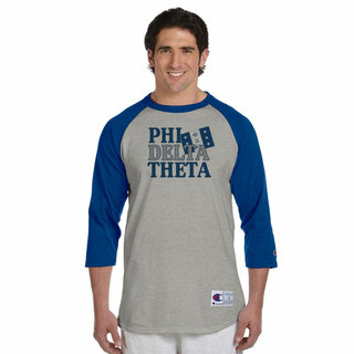 Fraternity Flag Champion� Raglan T-Shirt