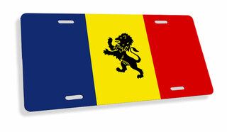 Fraternity Flag License Cover