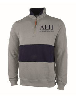 Fraternity & Sorority Greek Letter Quad Pullover