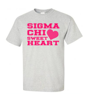 Fraternity Group Sweetheart T-Shirt