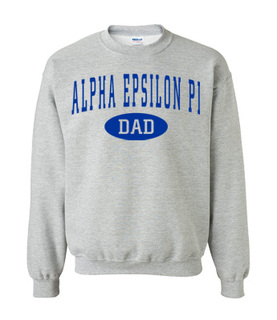 Fraternity or Sorority Dad Sweatshirt