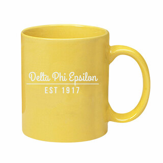Fraternity & Sorority 11 oz. Colored Stoneware Mug