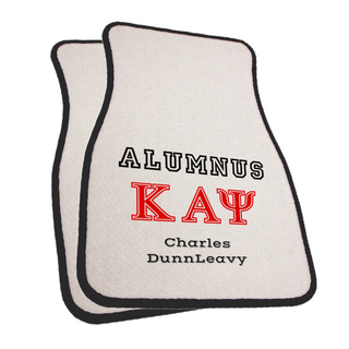 Fraternity & Sorority Alumni / Alumna Car Mats