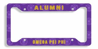 Fraternity & Sorority Alumni / Alumna License Plate Frame