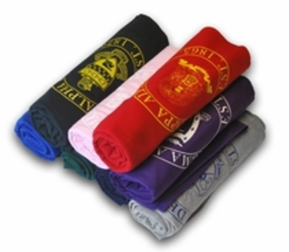 Fraternity & Sorority Blankets & Towels