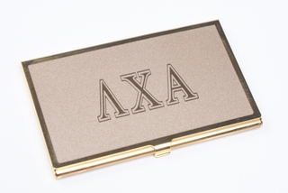 Fraternity & Sorority Business Card Holder