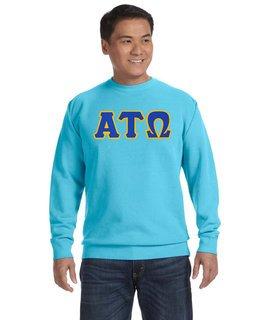 Fraternity & Sorority Comfort Colors 9.5 oz. Garment-Dyed Fleece Crew