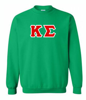 Fraternity & Sorority Hand Sewn Twill Crewneck Sweatshirt