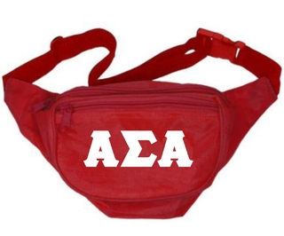 Fraternity & Sorority Deluxe Fanny Pack