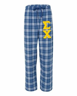 Fraternity & Sorority Flannel Pants