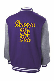 Fraternity & Sorority Fleece Letterman Jacket