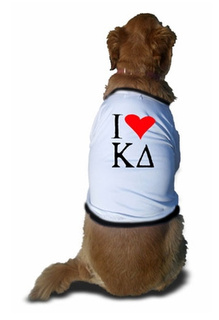 Fraternity & Sorority Greek Doggie Shirts